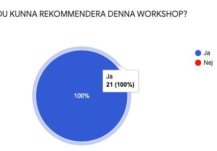 100 % rekommendation av gymnasieelever på workshop med socialpsykologi!